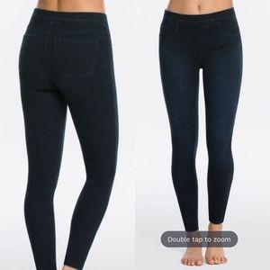 SPANX Jean-ish Legging Dark Skinny Stretchy Jeans